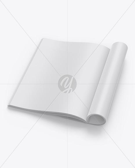 Download Textured A4 Magazine Mockup Free Mockups