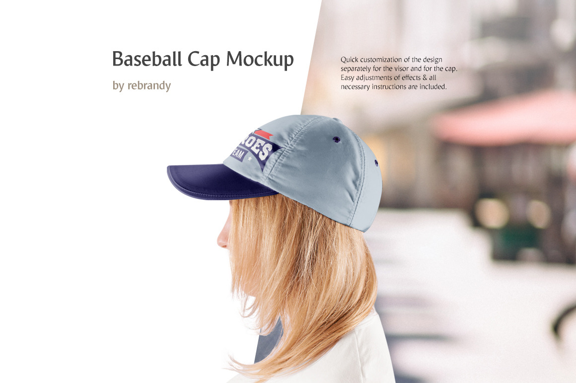 Download Baseball Cap Mockup Free Yellow Images
