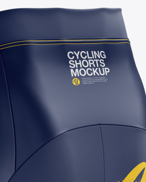 Women's Cycling Shorts Mockup
