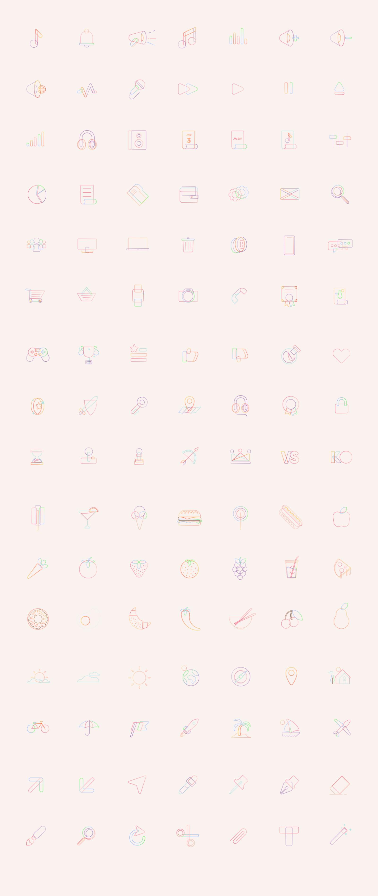 BUBBLiCONS -  iCon Set