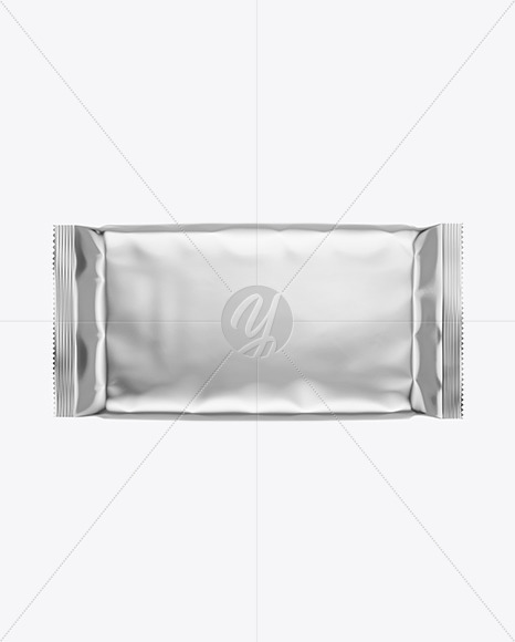Metallic Snack Package Mockup