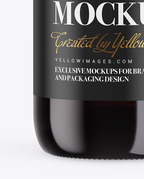 1.5L Red Wine Bottle Mockup
