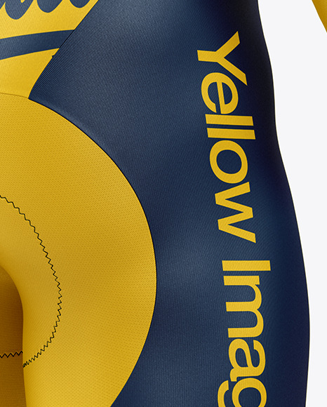Men's Cycling Kit Mockup