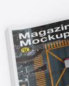 Textured A4 Magazine Mockup