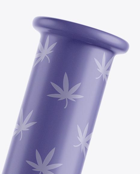 Glossy Weed Bong Mockup
