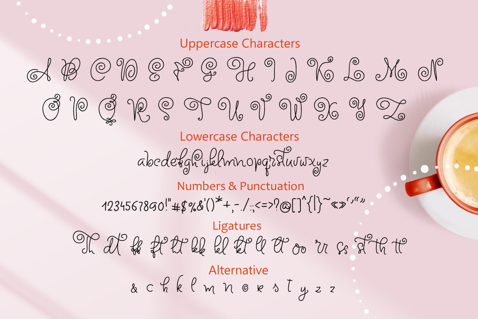 Circle Around handwritten Kids Font