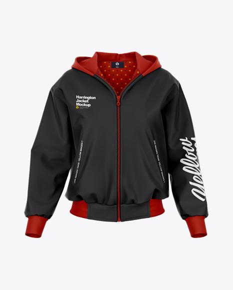 Women's Harrington Hooded Jacket