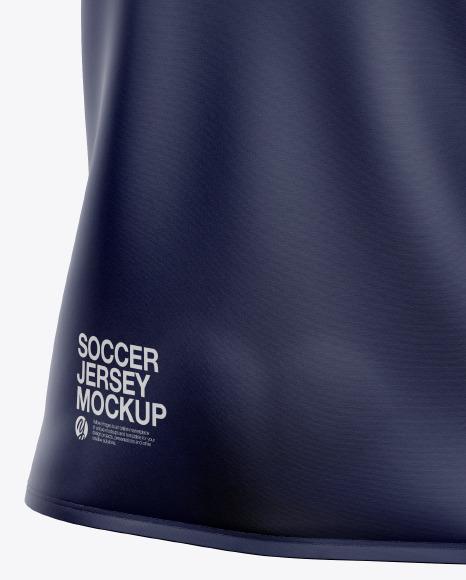 Women's Soccer Jersey Mockup