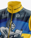 Women's Cycling Wind Vest mockup (Half Side View)