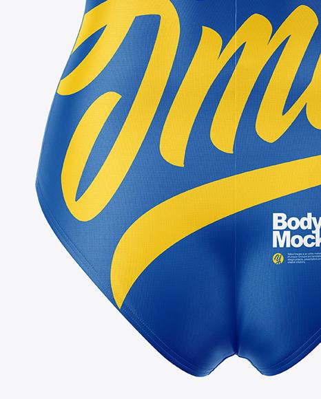 Women's Bodysuit Mockup