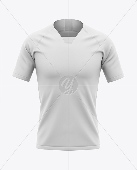 Download Soccer Jersey Mockup Front View Yellow Images