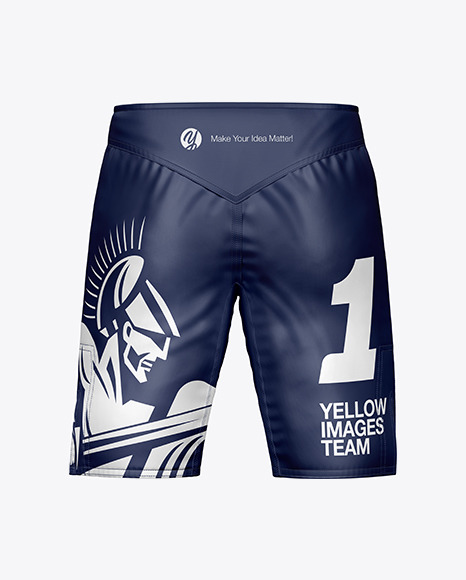 Download Men S Shorts Mockup In Apparel Mockups On Yellow Images Object Mockups