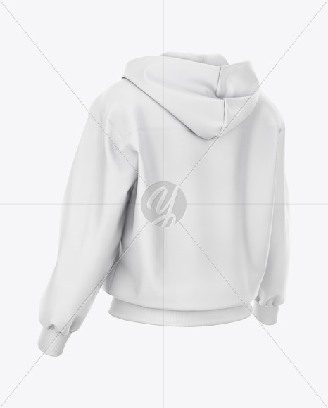Women's Harrington Hooded Jacket Mockup