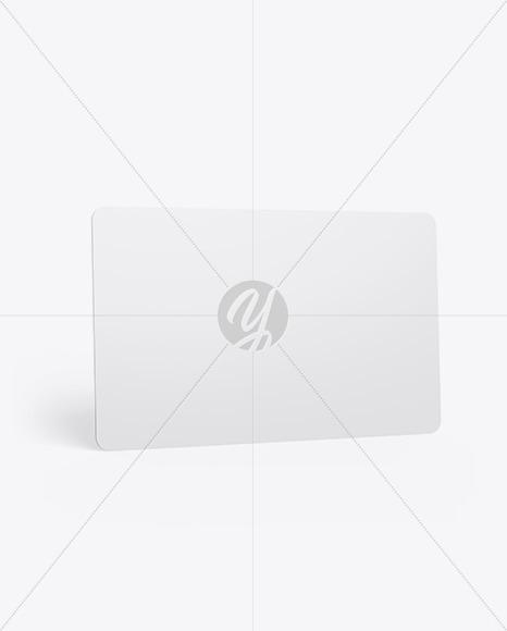 Plastic Card Mockup