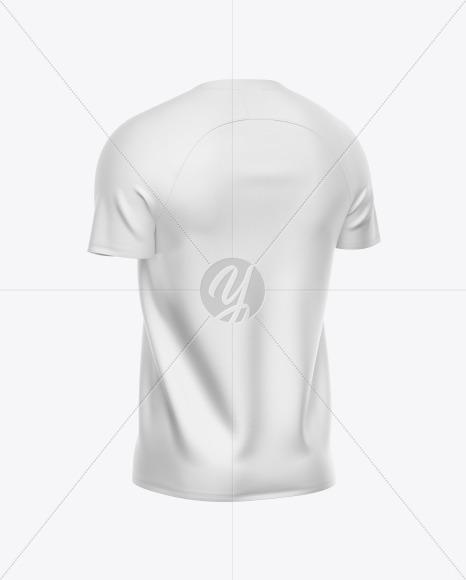 Men's Soccer Jersey Mockup