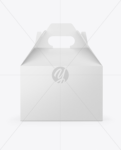 Matte Paper Box with Handle