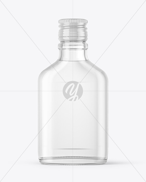 Download Glossy Conical Flask Bottle Mockup PSD - Free PSD Mockup Templates