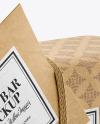 Kraft Soap Bar Package Mockup