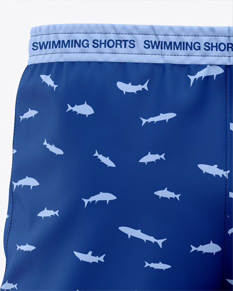 Men's Swimming Shorts - Back View