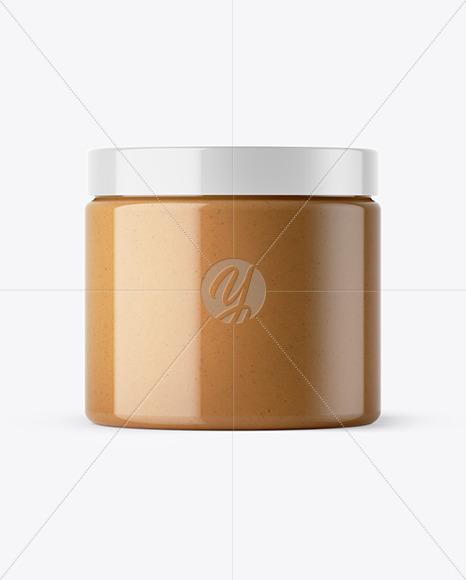 Peanut Butter Jar Mockup