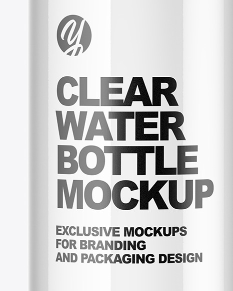 Download Clear Water Bottle Mockup In Bottle Mockups On Yellow Images Object Mockups PSD Mockup Templates