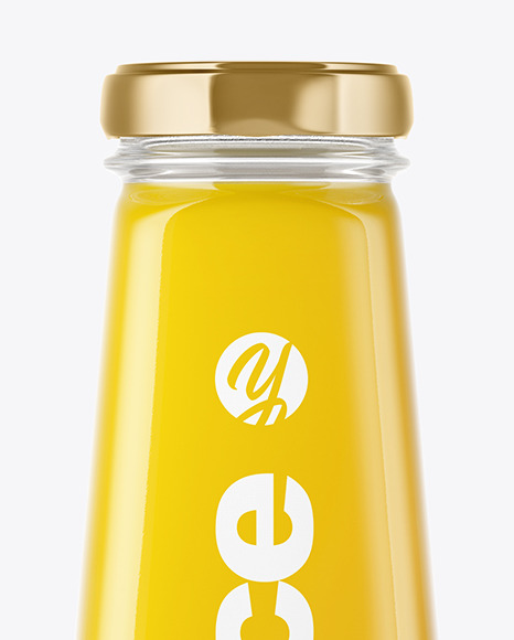 Download Clear Glass Bottle With Orange Juice Mockup In Bottle Mockups On Yellow Images Object Mockups PSD Mockup Templates