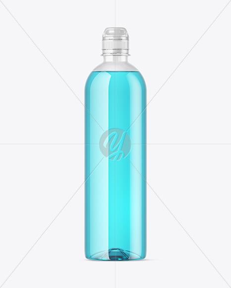 Soft Drink Bottle Mockup