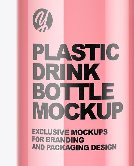 Plastic Drink Bottle Mockup