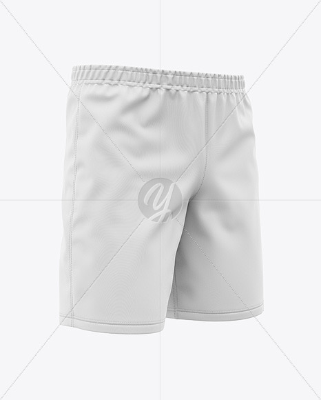Men's Swimming Shorts - Front Half-Side View
