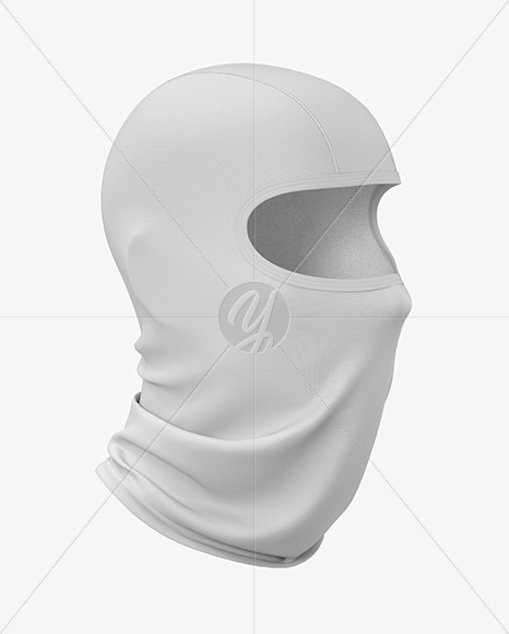 Download Buff Mask Mockup Yellow Images