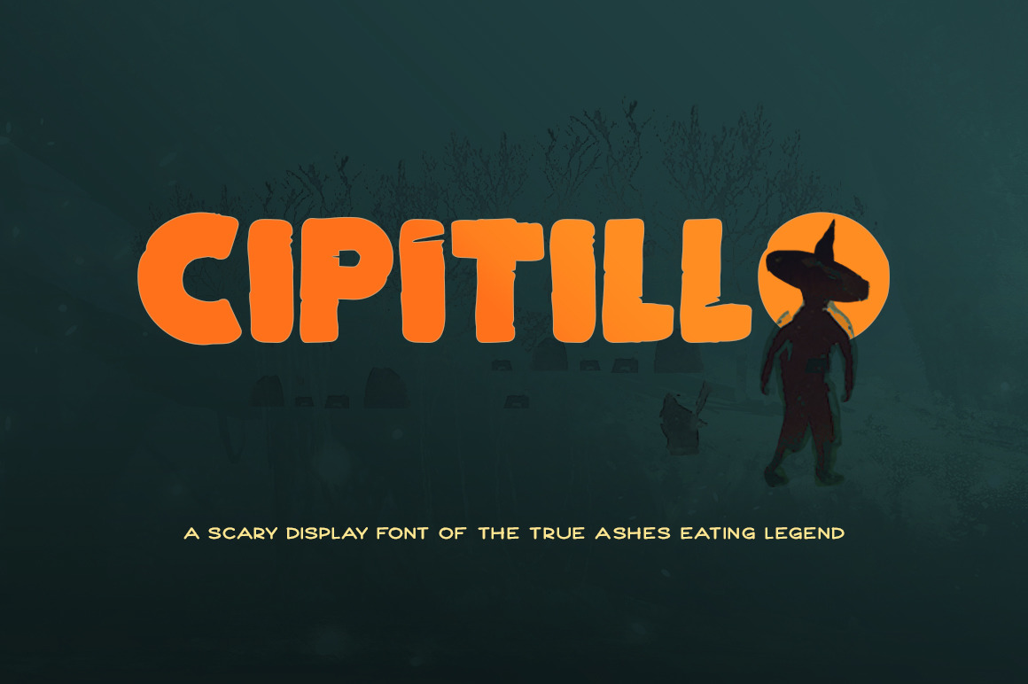 Cipitillo Scary Font