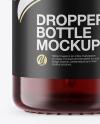 15ml Dark Amber Glass Dropper Bottle