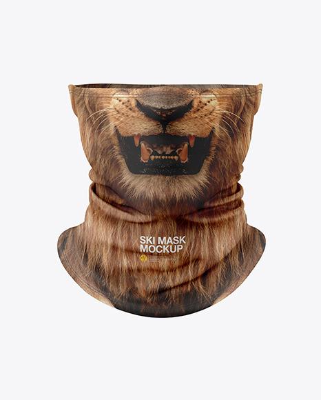 Tube Ski Mask Mockup Set