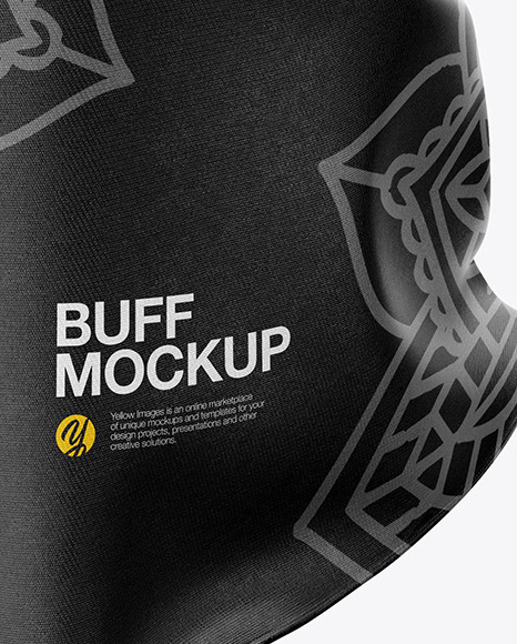 Download Buff Mockup Free Yellow Images