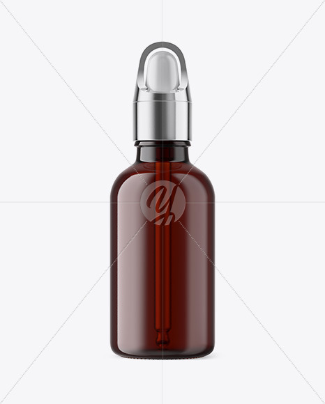 50ml Dark Amber Glass Dropper Bottle