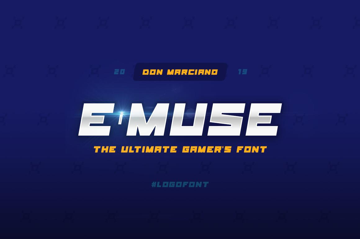 E-Muse Sports Font