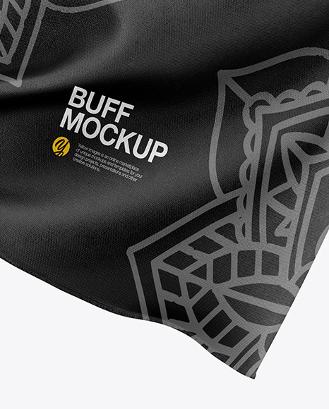 Download Buff Mockup Side View Yellowimages