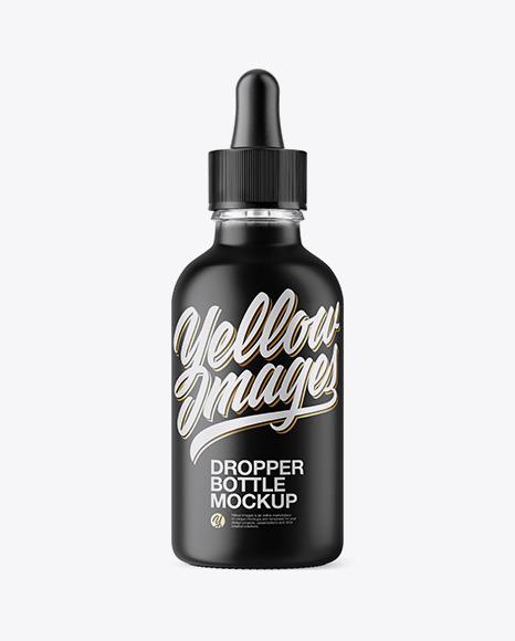 Free Download 15ml Clear Glass Dropper Bottle Kraft Box PSD - Free PSD Mockup Templates