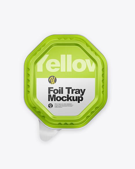 Foil Tray Mockup