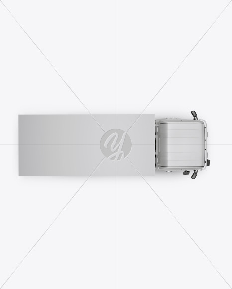 Truck Mockup - Top View