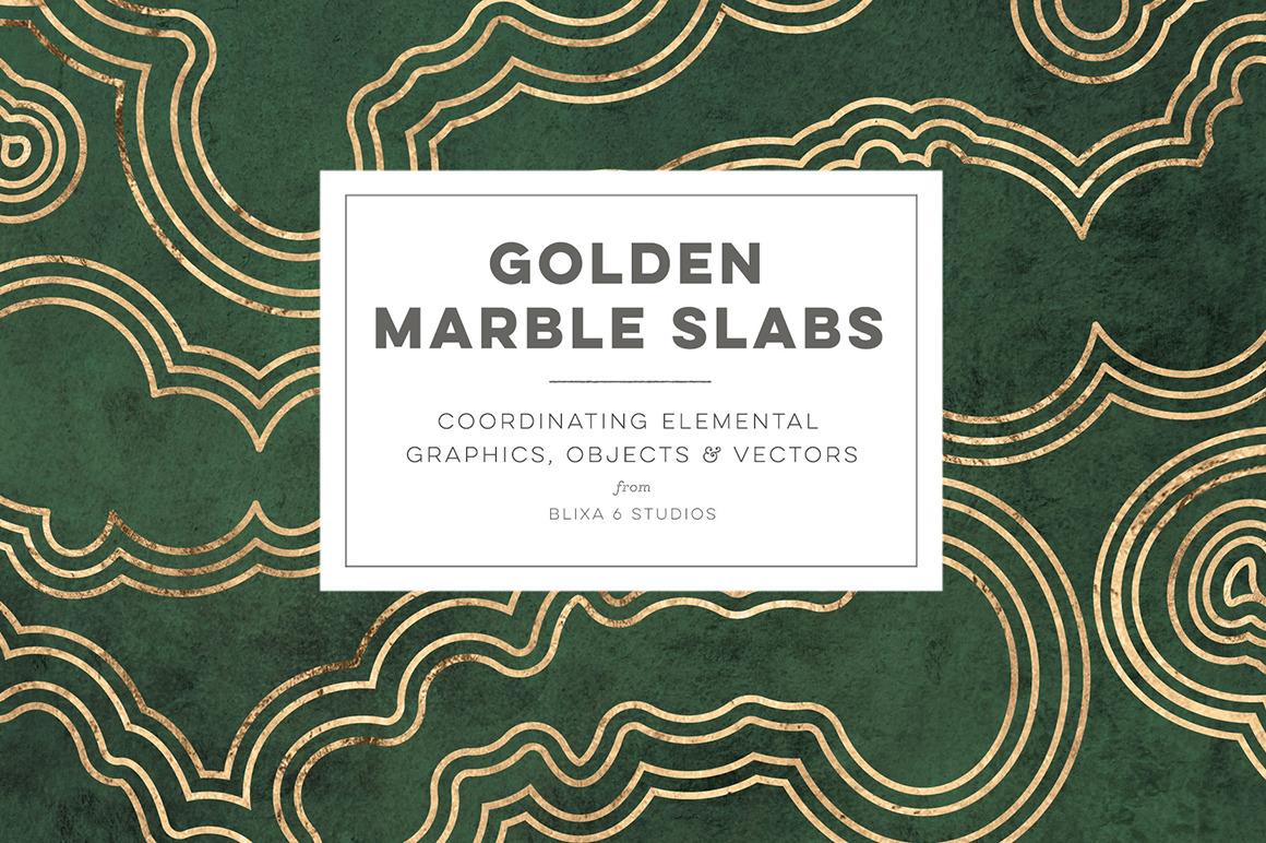 Golden Marble Slabs