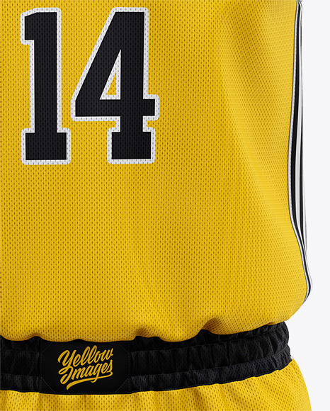 Basketball Kit Mockup