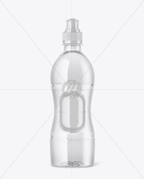 Drink Bottle w/ Plastic Egg Mockup