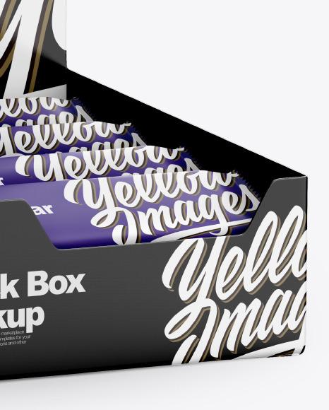 Snack Box Mockup
