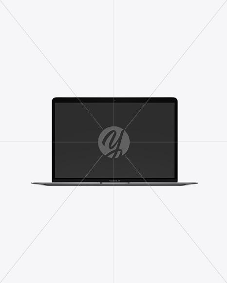 Space MacBook Air Mockup