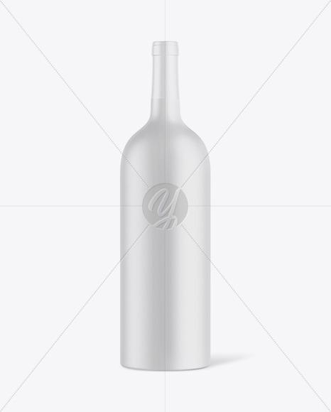 1L Ceramic Bottle Mockup