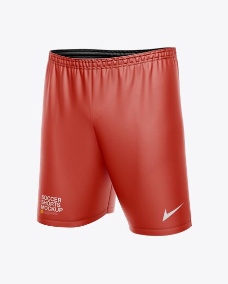Download Mens Soccer Shorts PSD Mockup