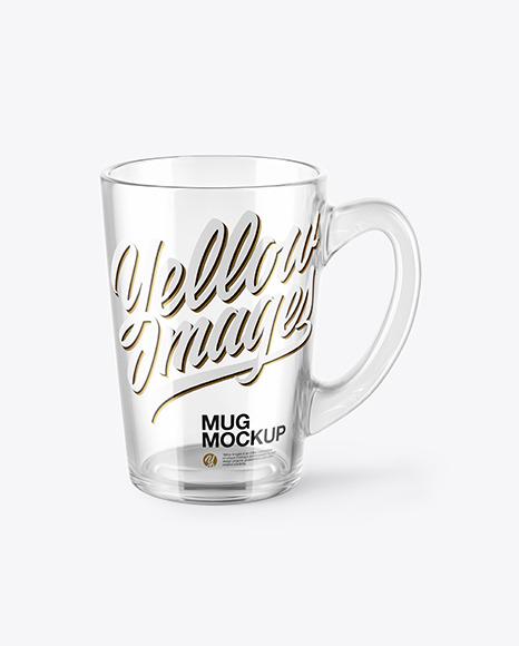Download Glass Mug PSD Mockup