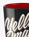 Glossy Mug Mockup