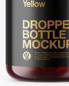 5ml  Dark Amber Glass Dropper Bottle